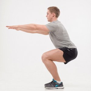 how to do back jump squats